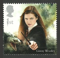 GB 2018 HARRY POTTER GINNY WEASLEY SINGLE STAMP MNH - 1952-.... (Elizabeth II)