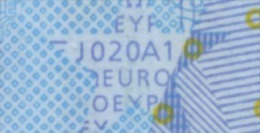 S ITALIA 20 EURO  J020 A1  TRICHET  FIRST POSITION   UNC - EURO
