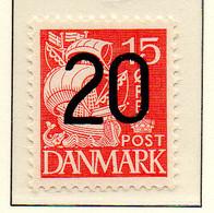 PIA - DANIMARCA - 1940 : Serie Corrente - Francobollo Del 1933-38 Sovrastampato - (Yv  274 ) - 1913-47 (Christian X)