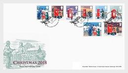 Groot-Brittannië / Great Britain - Postfris / MNH - FDC Kerstmis 2018 - 1952-.... (Elizabeth II)