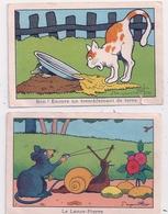 2 Images Benjamin RABIER  Le Lance Pierre - Rabier, B.