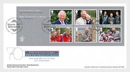 Groot-Brittannië / Great Britain - Postfris / MNH - FDC Sheet 70e Verjaardag Prins Charles 2018 - Ongebruikt