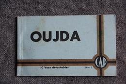OUJDA - Carnet Complet De 10 Vues Détachables. - Maroc