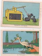 2 Images Benjamin RABIER  Le Tobogan - Rabier, B.
