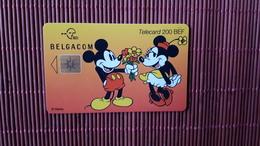 Phonecard Disney Mickey & Minnie Rare - Disney