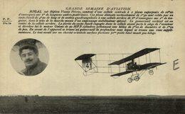 RIGAL, SUR BIPLAN VOISIN FRÉRES - Aviones