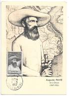 Auguste Pavie Né A Dinan (1847-1925)...pionnier De La France Au Laos....1957... - Dinan