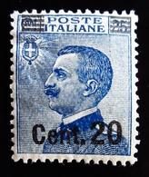 1925 Italie  Yt 170 .Michetti Overprinted . Neuf Trace Charnière - 1900-44 Victor Emmanuel III