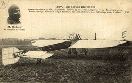 MONOPLAN BLÉRIOT IX - Aviones