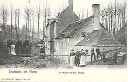 CPA / PK / AK  -  MONS Environ  Le Moulin De St  Denis ( Animation ) - Mons