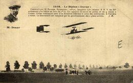 DURAY, LE BIPLAN DURAY - Aviones