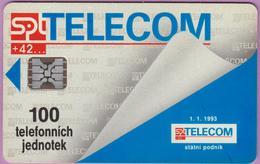 Télécarte Tchéquie °° SPT Telecom -Sc5- 100j- Non Datée. - Tchéquie