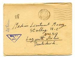 France - WWII - Lettre De Paris 1941 Pour Le STALAG IV C (Allemagne) Avec Correspondance - (B2036) - 1921-1960: Modern Period
