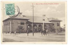 Cpa Jamaïque / Jamaica - Kingston, Bank Of Nova Scotia - Jamaïque