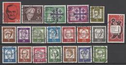 1961 BERLIN Oblitéré Année Complète Cote 32€ - [5] Berlin