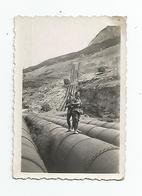 Photographie 05 Hautes Alpes L'argentière La Besse Chasseurs Alpins Sur Les Conduites 1931 Photo 6x8,5 Cm - War, Military