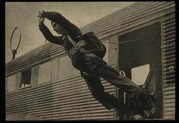 WW II DR Militär Postkarte , Der Adler, Fallschirmsprung: Ungebraucht. - Allemagne