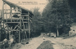 I16 - 38 - SAINT-EGRÈVE - Isère - Route Conduisant Au Col De La Charmette - Le Creux - Autres Communes