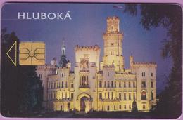 Télécarte Tchéquie °° Hlubokà -gem- 50j-100Kc - 1996.10. - Tchéquie