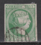 ISABEL II 1853. 5 REALES USADO. FIRMADO. 170 €. BONITO - 1850-68 Reino: Isabel II