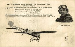 M. HAMEL, MONOPLAN BLÉRIOT - Aviones