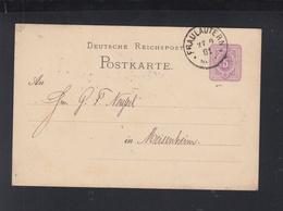 Dt. Reich GSK 1881 Fraulautern - Germany