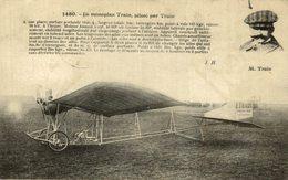 M. TRAIN, LE MONOPLAN TRAIN - Aviones