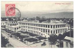 Cpa Jamaïque / Greetings From Jamaica - Public Buildings , Eastern Wing, Kingston - Jamaïque