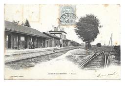 54/ MEURTHE Et MOSELLE...AUDUN Le ROMAN: La Gare - Autres Communes