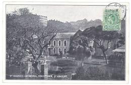 Cpa Jamaïque / Jamaica - Kingston - St Geroges Cathedral, St Vincent - Jamaïque