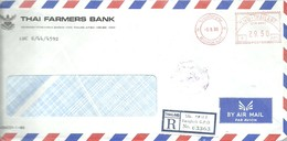 LETTER 1988 REGISTERED - Tailandia
