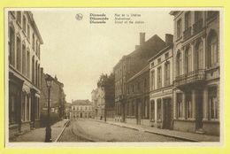 * Diksmuide - Dixmude * (Nels, Ern Thill) Rue De La Station, Statiestraat, Tramway, Old CPA, Façade, Rare - Diksmuide