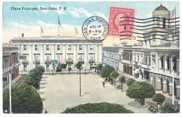 Cpa Puerto Rico / Porto Rico - San Juan - Plaza Principal - Puerto Rico