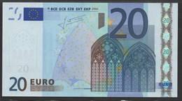 P NEDERLAND  20 EURO  G010A1  TRICHET  AUNC/UNC - EURO