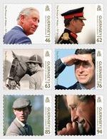 Guernsey - Postfris / MNH - Complete Set 70e Verjaardag Prince Of Wales 2018 - Guernsey