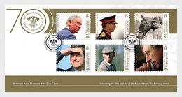Guernsey - Postfris / MNH - FDC 70e Verjaardag Prince Of Wales 2018 - Guernsey