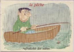 CPM - ILLUSTRATION ALEXANDRE - Série PECHE - Edition LYNA Paris  / N° 970-5 - Pêche