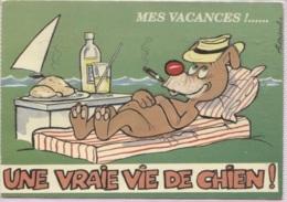 CPM - ILLUSTRATION ALEXANDRE - Série MES VACANCES - Edition LYNA Paris  / N° 989-3 - Alexandre