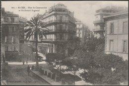 Rue Du Constantine Et Boulevard Bugeaud, Alger, C.1910 - Régence CPA - Algiers