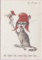 CPM - Illustration DESCLOZEAUX - Bicentenaire Révolution Française (Chat) - Edition Nlles Images / N°1115 - Desclozeaux