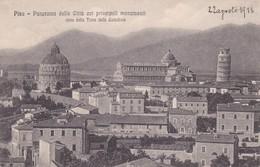 CARTOLINA - POSTCARD - PISA - PANORAMA DELLA CITTA' COI PRINCIPALI MONUMENTI VISTO DALLA TORRE DELLA CATTEDRALE - Pisa
