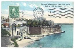 """Cpa Puerto Rico / Porto Rico - San Juan - Governor's Palace And """" San Juan """" Gate .. - Puerto Rico"""