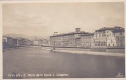 CARTOLINA - POSTCARD - PISA - S. MARIA DELLA SPINA E LUNGARNO - Pisa