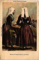 CPA Anciens Costumes De Bretagne FRANCE FOLKLORE (788160) - Autres