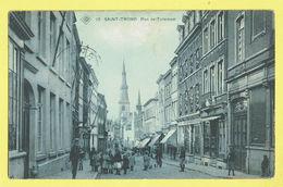 * Sint Truiden - Saint Trond (Limburg) * (SBP, Nr 12) Rue De Tirlemont, Très Animée, TOP, Zeldzaam, Unique, Enfants Rare - Sint-Truiden