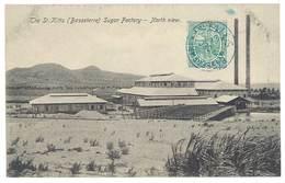 Cpa Antilles - Saint Christophe-et-Nieves - The St Kitts (Basseterre ) Sugar Factory - North View - Saint-Christophe-et-Niévès