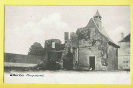 * Waterloo (Waals Brabant - Brabant Wallon) * Hougomont, Boerderij, Farm, Ferme, Ruines, Rare, Old, CPA, Unique - Waterloo