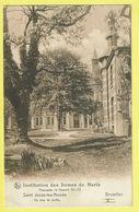 * Sint Joost Ten Node - Saint Josse (Bruxelles) * (Nels) Institution Des Dames De Marie, Chaussée De Haecht, Coin Jardin - St-Josse-ten-Noode - St-Joost-ten-Node