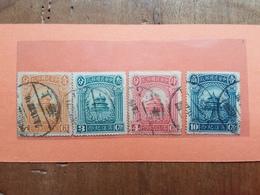 CINA 1923 - Serie Completa Timbrata + Spese Postali - Chine