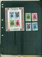 TRINIDAD TOBAGO 10 INDEPENDANCE 4 VAL+ BF  NEUFS A PARTIR DE 0.60 EUROS - Trinité & Tobago (1962-...)